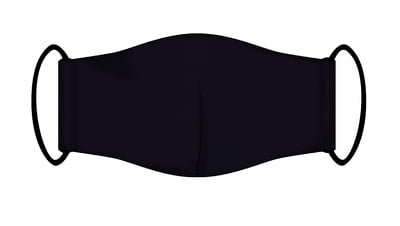 Large Re-usable 3-Layer Face Mask (pack of 2) Navy